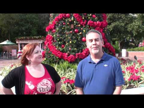 25 Days of Christmas – Day 20: Theme Park Decorations at Walt Disney World