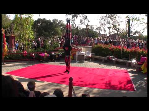 Jeweled Dragon Acrobats at the China Pavilion in Epcot – Episode 154