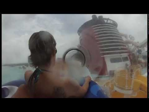 Take A Ride In The Aquaduck Onboard The Disney Fantasy