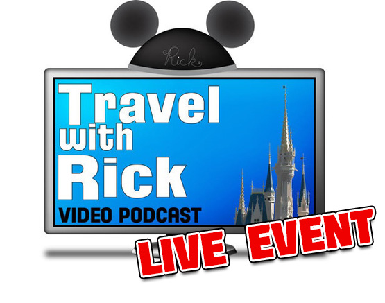 Starting at  7:00 pm until 9:00 pm you can watch the Live Stream of Travel with Rick Planning Sessions from Disney's Boardwalk Villas.