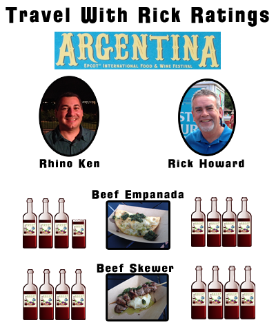 Argentina Marketplace Ratings Epcot Food and Wine 2013