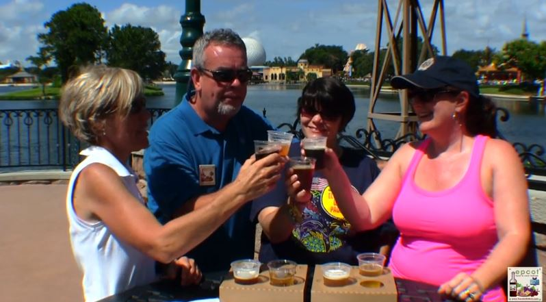 brewer's Collection at Epcot's International Food and Wine Festival