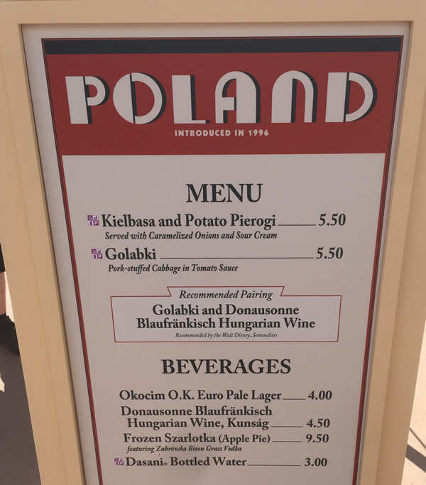 No Poland For  Food And Wine Festival
